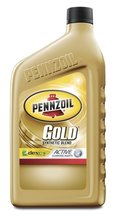Pennzoil Gold Synthetic Blend Oil