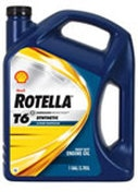 Shell Rotella T6 Full Synthetic Oil